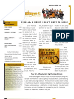 Newsletter Nov09