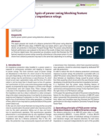 Losinski Klucznik Performance Analysis of Power Swing Blocking Feature
