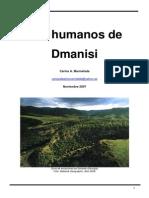 Los Humanos de Dmanisi