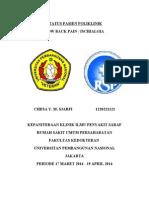 Status Poli Lbp- Ischialgia