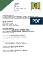 Updated Resume - 2e Burga
