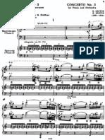 Bartok's Third Piano Concerto