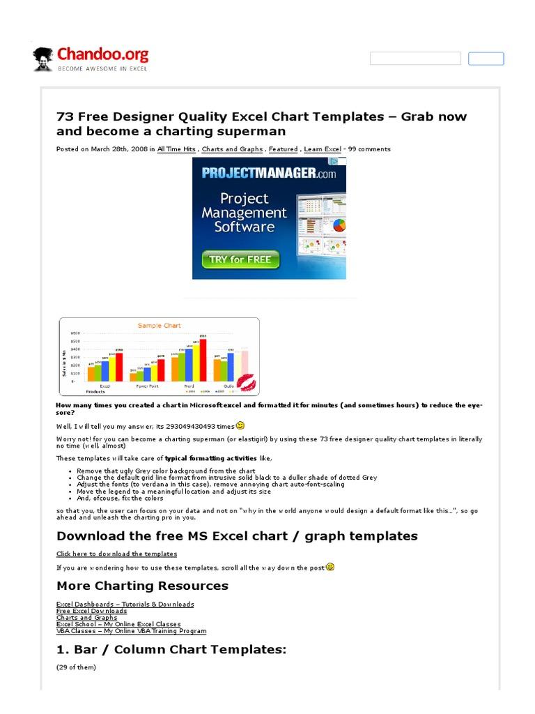 Free excel chart templates make your bar pie charts beautiful free excel chart templates make your bar pie charts beautiful chandoo microsoft excel computing alramifo Choice Image