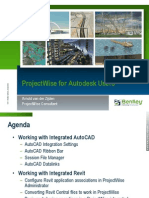 2012 b2 Projectwise for Autodesk Users