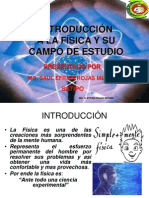 (01) Introducción a la Física y su Campo de Estudio Facultad de Ciencias Agrarias FCA-UNCP