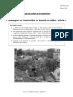 IR1 - Tunnels en Milieu Urbain
