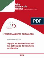 502 4- Posicionamento Oficial Sbd 2007 6 Bomba de Insulina