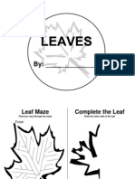 Leaf Activity Book