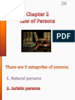 Law of Persons