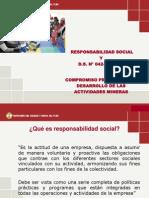 D.S. N° 042-2003-EM y modificatoria Taller Huallanca
