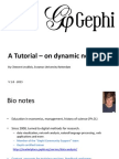 Gephi Tutorial Dynamics Timeline