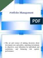 3. Portfolio Management Theories