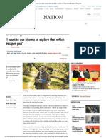Amit Dutta Indian Express Interview