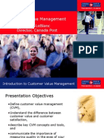 customer value management