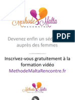 Découvrez comment un homme à réussi à séduire 225 femmes grace à la méthode malta Rencontre