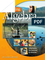 Discovering Algebra - An Investigative Approach (Gnv64)