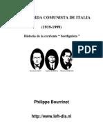 Bourrinet - La Izquierda Comunista Italiana