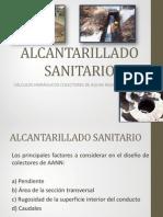 4. ALCANTARILLADO SANITARIO DISEÑO DE COLECTORES AANN