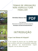 IrrigaçãoAgriculturaFamiliar
