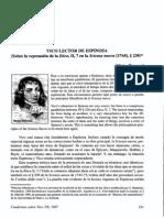 Remaud- Vico Lector de Spinoza