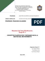 Informe Planificacion Gestion Mtto