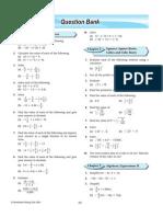 QBank for math form 2