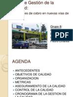 Plan de Calidad - Trabajo Final - Grupo 8