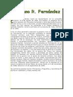 Biografía Emiliano R. Fernández