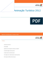 Caraterização da Animação Turística 2012