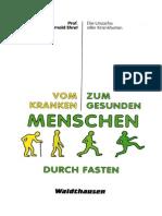 Ehret,Arnold-Vom Kranken Zum Gesunden Menschen Durch Fasten(1991,127S.)
