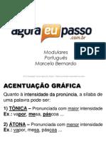 AEP2011 - Portugua¦Çs para Concursos (G&T) - AULA 05 - Acentuaa¦üÔêåo GrÔÇáfica