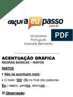 AEP2011 - Portugua¦Çs para Concursos (G&T) - AULA 07 - Acentuaa¦üÔêåo GrÔÇáfica