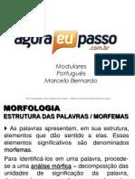 AEP2011 - Portugua¦Çs para Concursos (G&T) - AULA 16 - Morfologia (Estrutura das Palavras)