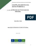 Dissertação de Mestrado_ _Análise do Planeamento e da Gestão Turistica_ Caso de Estudo do Concelho de Odemira_
