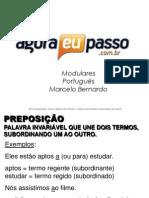 AEP2011 - Portugua¦Çs para Concursos (G&T) - AULA 19 - Morfologia 2 (Classes InvariÔÇáveis)