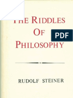 The Riddles of Philosophy