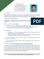 Resume of Engr. Mohammad Arif Mohiuddin/geo/6/4/14