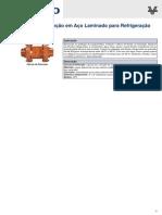 Válvulas de Retenção em Aço Laminado para Refrigeração