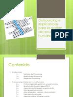 Outsourcing e implicancias para la gestión de recursos humanos