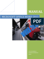 Manual Microsoft Office Word 2013