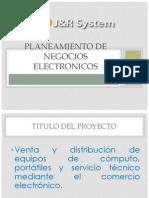 Expo Planeamiento de Negocios Electronicos