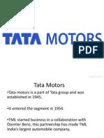 Tata motors case
