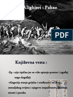 Dante Alighieri - Pakao