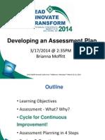 naspa dev  assessment plan