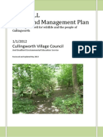 re-designed layout of the dell woodland managment plan reviewed  updated may 2013 for mar 2014 meeting