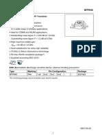 Datasheet BFP640a
