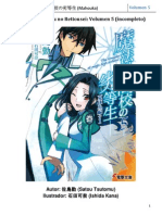 Mahouka Koukou No Rettousei Volumen 5 Incompleto (Cap.1 & 6)