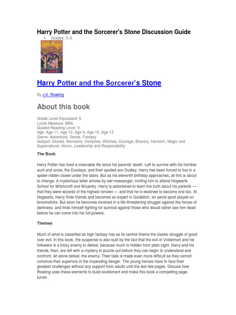 Harry Potter Books Pdf File