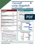 Current Economic Snap shots San Juan County