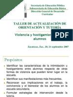 4.-Violencia y Hostigamiento - Panorama General